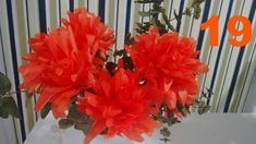 Aula 19 - Flor de papel de seda