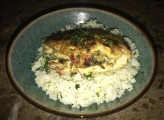[Homemade] stuffed chicken w/ rice! Food Recipes