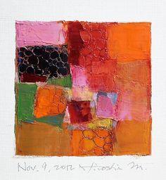 Nov 9 2012  Original Abstract Oil Painting  by hiroshimatsumoto, $60.00