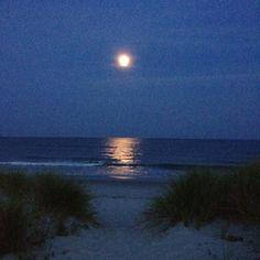 Pawleys Island, SC moonrise