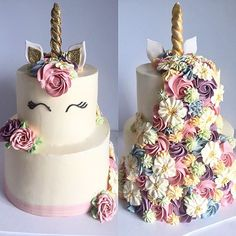 Monday pretty with this two-tiered Unicorn #unicornmagic