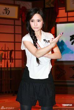 Wing Chun Women | Gillian Chung demonstrates Wing Chun form