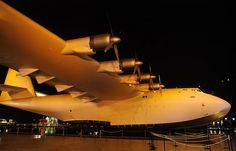 The Spruce Goose in Long Beach CA - Howard Hughes' experimental plane
