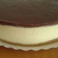 עוגת גבינה קרה ושוקולד   ניקי ב - אוכל עושים באהבה