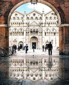 Ferrara, Emilia Romagna www.brickscape.it #brickscape #turismoesperienziale #turismo #esperienze #experiences #tourism #viaggi #viaggio #viaggiare #vacanza #vacanze