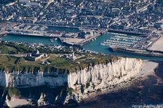 ✈️ Photo aérienne de : Fécamp - Seine-Maritime (76)