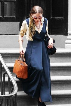 Ashley Olsen Shows Weather Doesn't Get In The Way Of A Good Outfit #refinery29  http://www.refinery29.com/2015/08/91717/ashley-olsen-jumpsuit-outfit#slide-1  Ashley Olsen made her way into the very humid city last week in a silky blouse (folded up at the sleeves) and a wide-legged jumpsuit, possibly forgetting that it happens to be mid-summer. ...