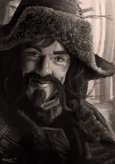 Bofur by Rachellefryatt, and the hat I want to live the rest of my life in.