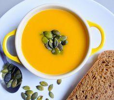 Суп из тыквы и сельдерея