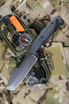 Extrema Ratio Selvan Tactical Fixed Survival Knife Blade