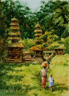 Eric Michaels - Path to the Temple - Bali