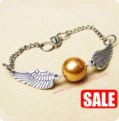 Golden Snitch Bracelet In Silver