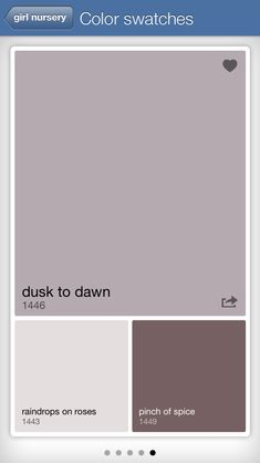 Benjamin moore. Dusk to dawn -- living room