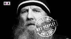 Výsledok vyhľadávania obrázkov pre dopyt hinz und kunst + homeless advertising