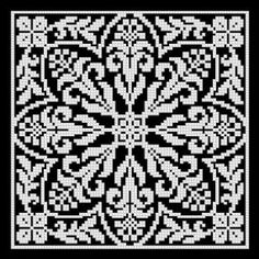 Gallery.ru / Fotoğraf # 22 - Filet Dantel Desenler VII - natashakon
