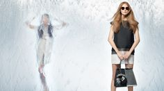 "Fendi Spring/Summer 2014 Advertising Campaign - ""Waterwall"" shot by Karl Lagerfeld"