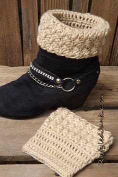 crochet-boot-cuffs-3.jpg (668×1000)