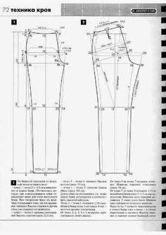 modelist kitapları: atele 2006 Muler i sin Sewing Pants, Sewing Clothes, Spanish Pattern, Modelista, Knit Pants, Jacket Pattern, Pattern Books, Sewing Patterns, Chart