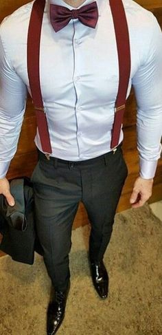 Ideas wedding suits men maroon red ties for 2019 Suit Fashion, Look Fashion, Mens Fashion, Fashion Ideas, Fashion Guide, Mode Masculine, Moda Formal, Style Masculin, Suit And Tie