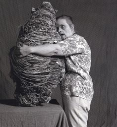 outsider artist Judith Scott. her story is fascinating! one of my all time favorite artists.