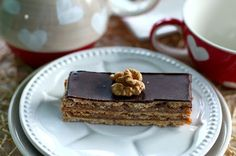 Zserbó (paleo) Paleo Sweets, Healthy Recipes, Vegan, Ethnic Recipes, Food, Squares, Christmas, Sheet Cakes, Food And Drinks