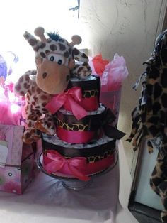 Baby Shower - Obviously since I love giraffes so much!!