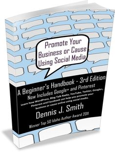Promote Your Business or Cause Using Social Media - A Beginner's Handbook (3rd Edition) [Kindle Edition] - $ 3.49  Promote Your Business or Cause Using Social Media is a handbook for beginner's interested in using social media to grow a small business or take any cause to the internet.