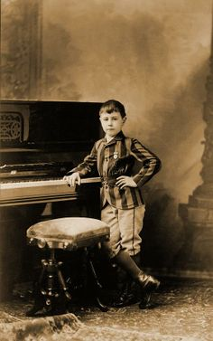 ... Child Prodigy Photograph - Josef Hofmann 1876-1957, Child Prodigy Fine