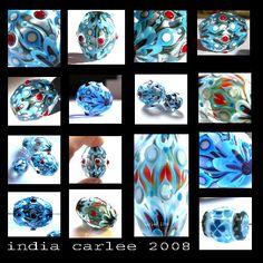 carlees world --- cosmic candies --- Glassbeads