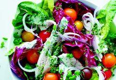 Sund aftensmad på max 30 minutter   Iform.dk Cobb Salad, Protein, Vegetables, Food, Vegetable Recipes, Eten, Veggie Food, Meals, Veggies