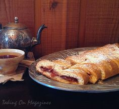 Gloriously Sticky Marmalade-Roll from The Unofficial Narnia Cookbook by Dinah Bucholz.