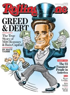 ok, not a book, but a must read: Rolling Stone Article By  Matt Taibbi On Romney/Bain Capital