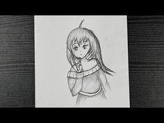 Anime Girl Drawing || Beautiful Anime Girl Drawing Easy || Pencil Drawing - YouTube Beautiful Girl Drawing, Girl Drawing Easy, Beautiful Anime Girl, Easy Drawings, Pencil Drawings, Anime Girl Drawings, Girl Face, Anime Girls, Youtube