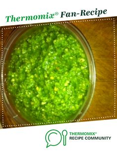 Basil Pesto by Maria Stuart. A Thermomix <sup>®</sup> recipe in the category Sauces, dips & spreads on www.recipecommunity.com.au, the Thermomix <sup>®</sup> Community.