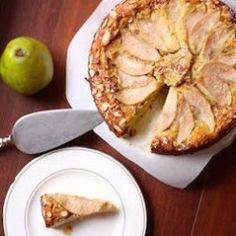 Gluten-Free Pear Almond Cake - basilandbubbly