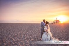 beach wedding hermosa beach pregnant bride -- Call (310) 882-5039 if you are looking for beach wedding ministers. https://OfficiantGuy.com