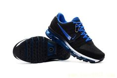 new style c4fa0 2d54a Factory Nike Air Max 2017 Men Black Dark Blue