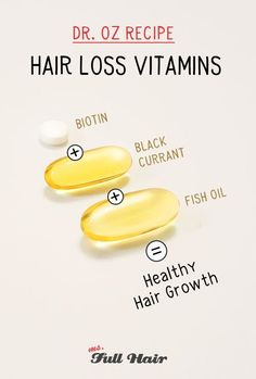 dr oz hair loss vitamins