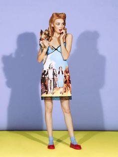 I'd wear it if it didn't look like a night gown...