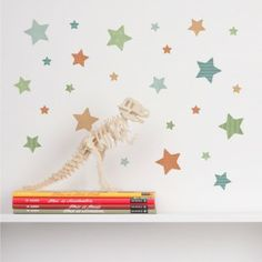 Make your little one's room shine with our mini star wall stickers. The perfect way to add a bit of colour and detail to their bedroom desk or just about anywhere in a nice subtle way. Star Wall, New Theme, Kid Spaces, Kids Bedroom, Wall Stickers, Little Ones, Product Launch, Wall Decor, Nursery