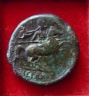Greek city of Syracuse in Sicily Reign of King Hieron II, 275-215 B.C.AE27 -EX- - http://coins.goshoppins.com/ancient-coins/greek-city-of-syracuse-in-sicily-reign-of-king-hieron-ii-275-215-b-c-ae27-ex/