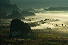 THAILAND, PHULANGKA, PHAYAO PROVINCE, NORTH