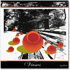 Trademark Fine Art Clay Vases Canvas Art by Miguel Paredes, Size: 18 x 18