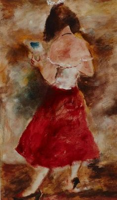 Francis Lymburner, The Red Petticoat, 1952 Oil on board. Francis Lymburner was…
