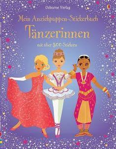 Büchereckerl: Mein Anziehpuppen-Stickerbuch - Tänzerinnen