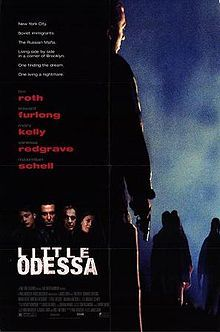 Little Odessa is an American crime film released in 1995 by James Gray, in his directorial debut, featuring Tim Roth, Edward Furlong, Moira Kelly and Vanessa Redgrave. The film earned a Silver Lion at the Venice Film Festival and the prestigious Grand Prix of the Belgian Film Critics Association. It also earned admiration from French master Claude Chabrol.