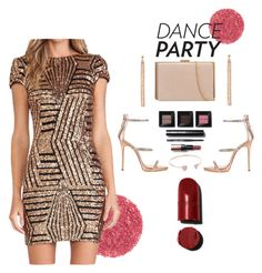 """""""Let's Party!"""" by wiena-chantika-a on Polyvore featuring Giuseppe Zanotti, Bobbi Brown Cosmetics and Charlotte Chesnais"""