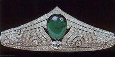 Königliche Juwelen: Die Chaumet Smaragd Tiara