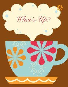 Coffee Time Art Print via Etsy I Love Coffee, Coffee Break, Best Coffee, Coffee Cafe, Coffee Shop, Coffee Lovers, Coffee Drinks, Coffee Mugs, Peanut Butter Pound Cake Recipe