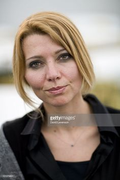 Elif Shafak, author, poses for a portrait at The Hay Festival on May 30, 2010 in Hay-on-Wye, Wales.